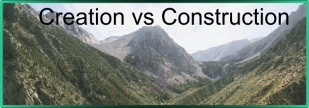 creation vs construction